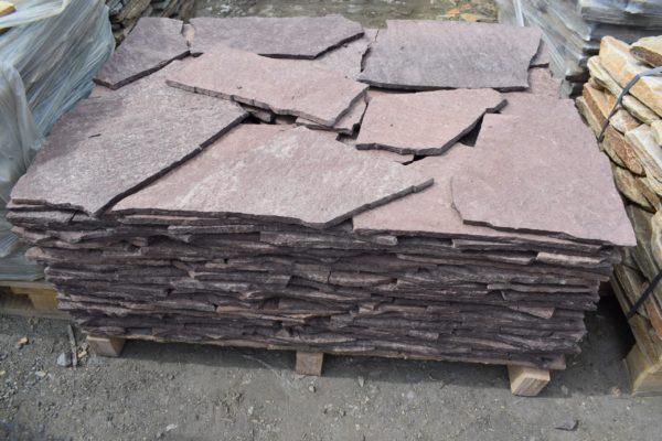 Плитняк Лемезит (вишня, бордо)