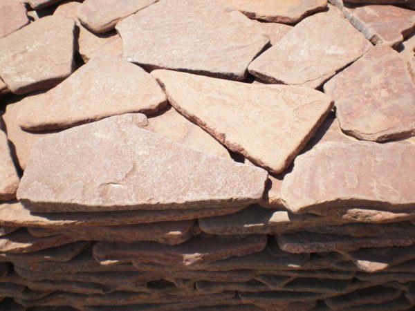 p7030451 600x450 - Песчаник галтованный терракотовый