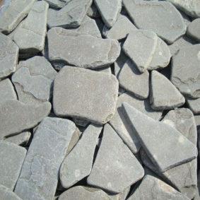 Галтованный Песчаник, серо-зеленый