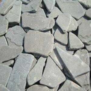 Песчаник галтованный серо-зеленый