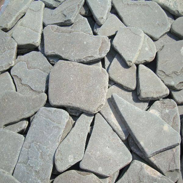serozelgalt600 600x600 - Песчаник галтованный, серо-зеленый