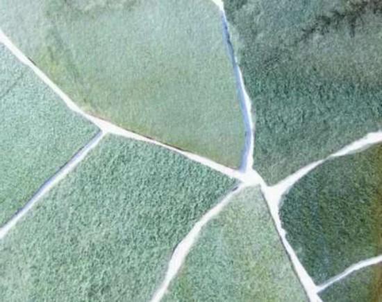 Плитняк Златолит, серо-зеленый