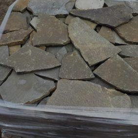 Плитняк Песчаник, серо-зеленый