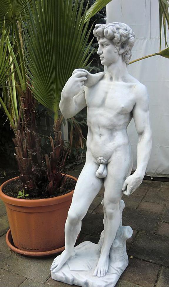 """Античная скульптура """"Давид"""", высота 120 см"""
