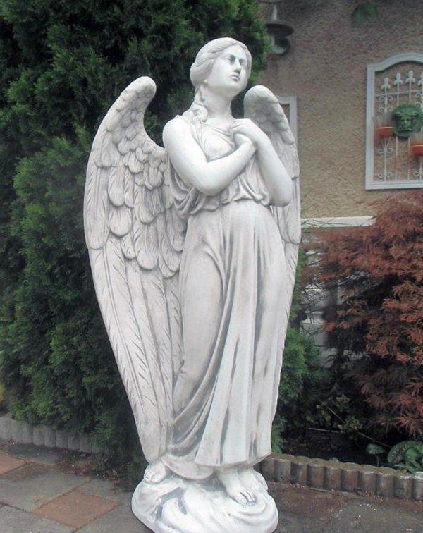 """Античная скульптура """"Ангел с большими крыльями"""""""