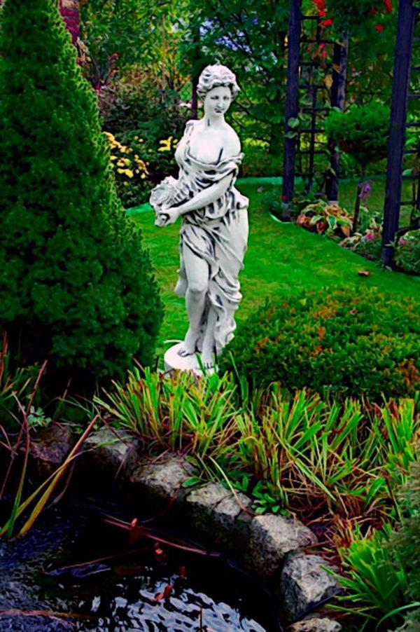 """Скульптура античная """"Девушка с ракушкой"""""""