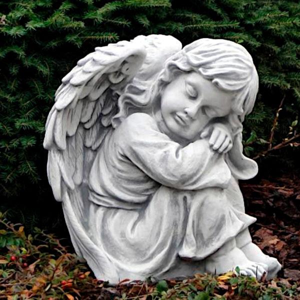"""Скульптура """"Маленький, спящий ангел"""""""