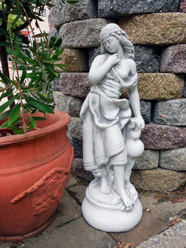 """Скульптура античная """"Женщина с кувшином"""""""