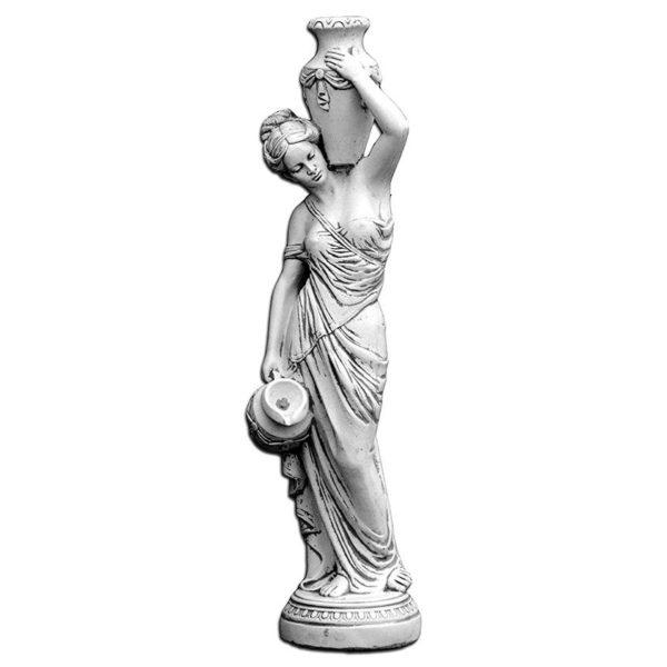 """Скульптура античная """"Девушка с кувшинами"""""""
