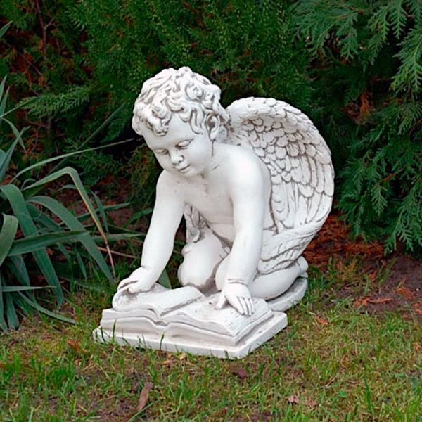 "Скульптура античная ""Ангел с книгой"""