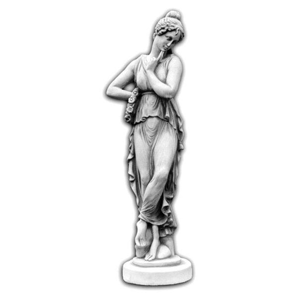 """Скульптура античная """"Девушка с венком"""""""