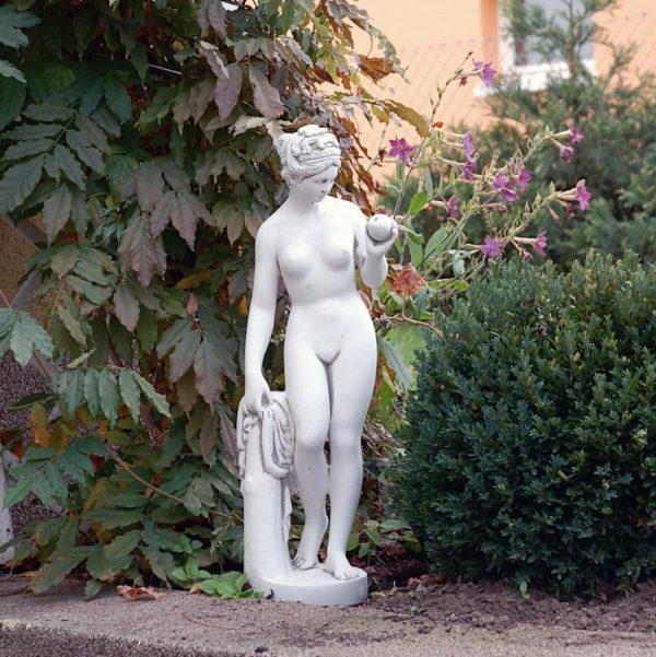 """Скульптура античная """"Ева с яблоком"""""""