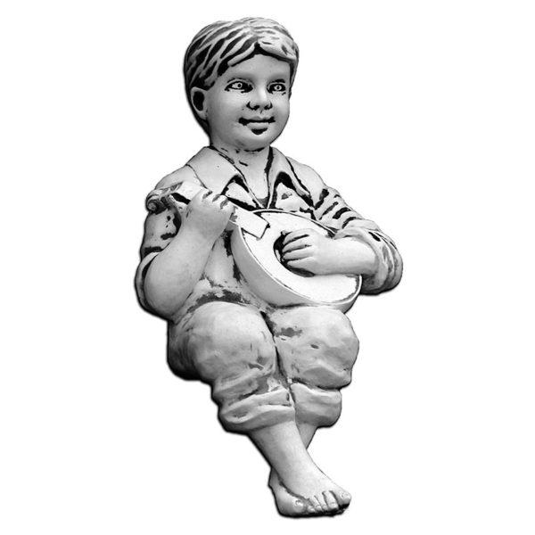 """Скульптура """"Мальчик с гитарой"""""""