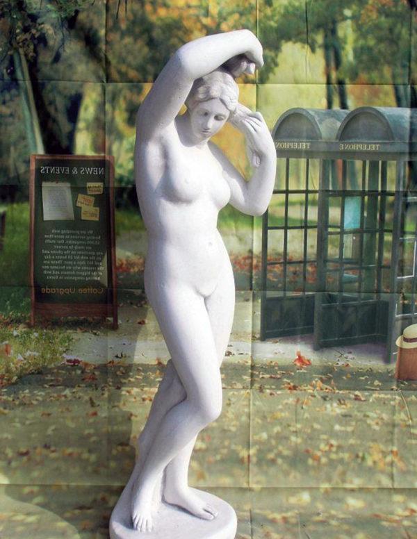 """Скульптура античная """"Девушка обнажённая"""""""